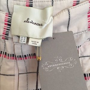 Anthropologie Pants - NWT Anthropologie Elevenses Cropped pants